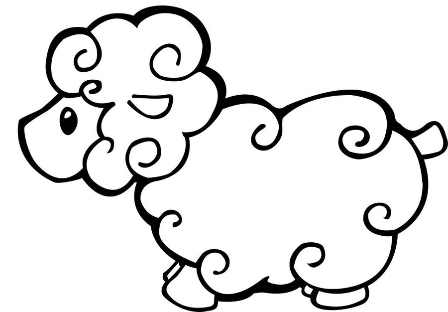 Merveilleux Shaun The Sheep Coloring Pages