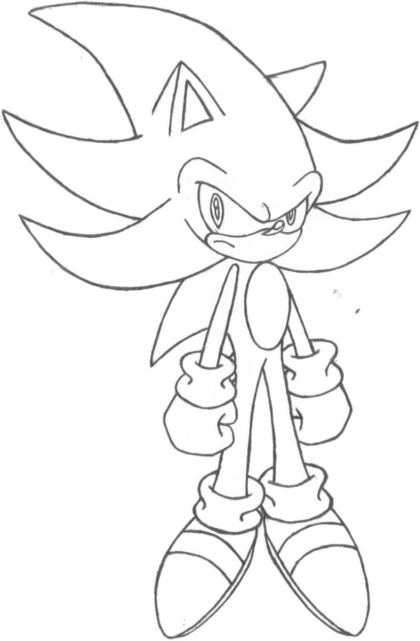 coloring pages sonic the hedgehog - photo#26