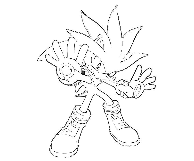 coloring pages sonic the hedgehog - photo#35
