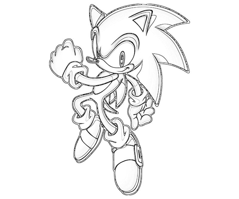 Sonic Heroes Coloring Pages