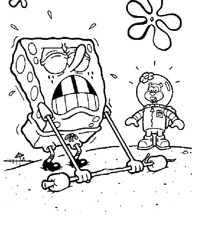 Spongebob Squarepants Coloring Pages Photos