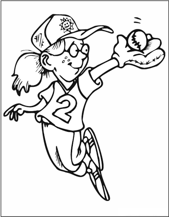 sports coloring pages for kids - photo#5