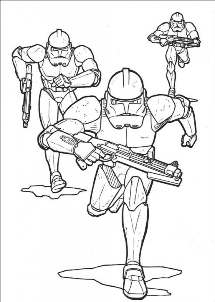 Stormtroopers - Star Wars Coloring Pages