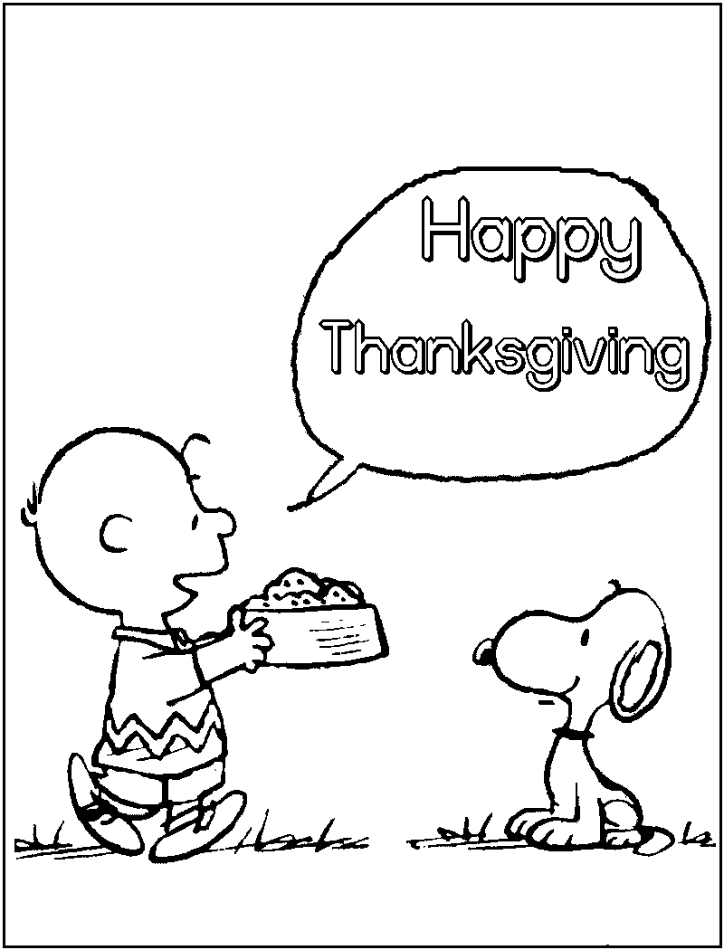 thanksgiving coloring pages printable - Thanksgiving Pages To Color For Free