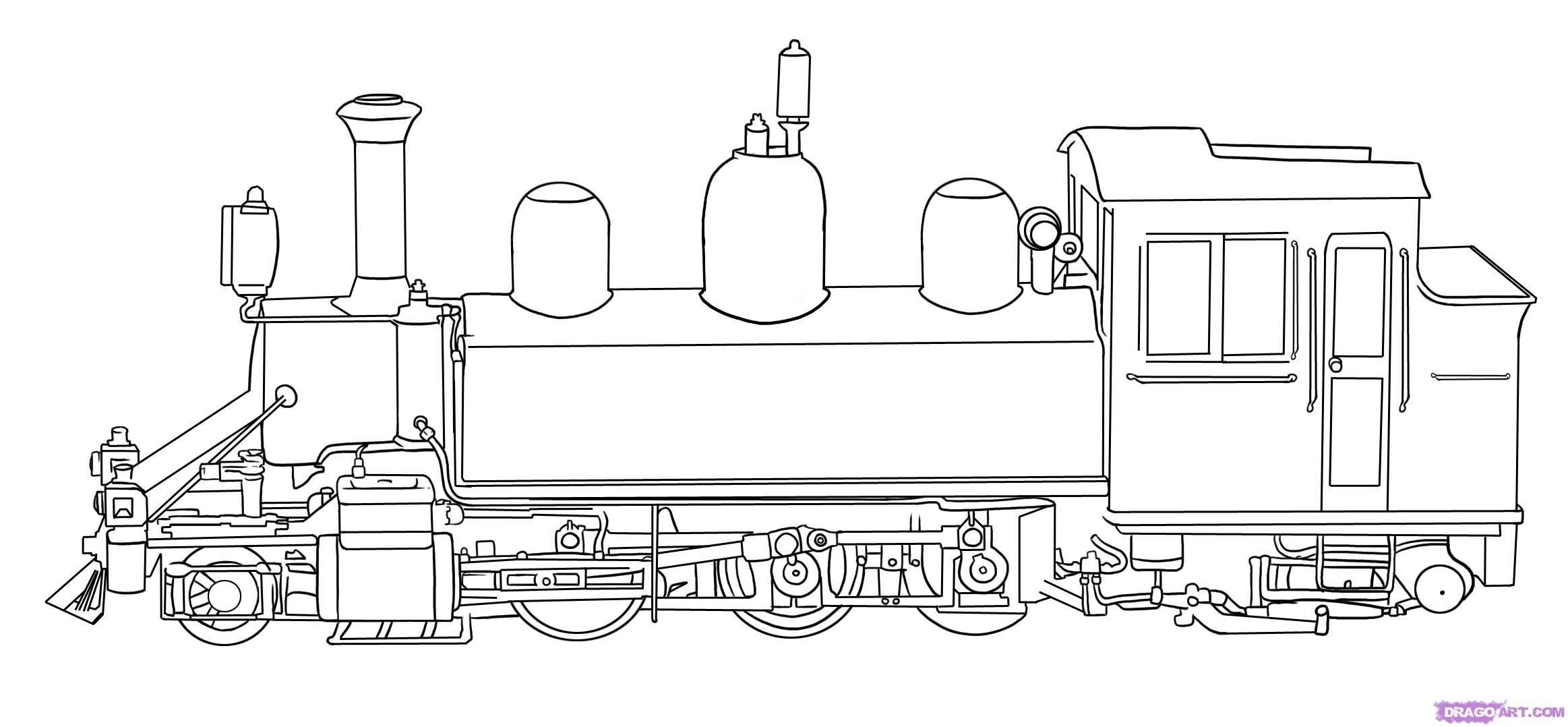 train engine coloring pages - photo#6