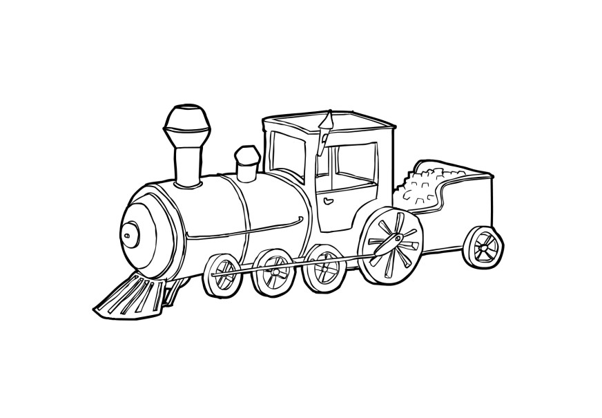 train engine coloring pages - photo#3