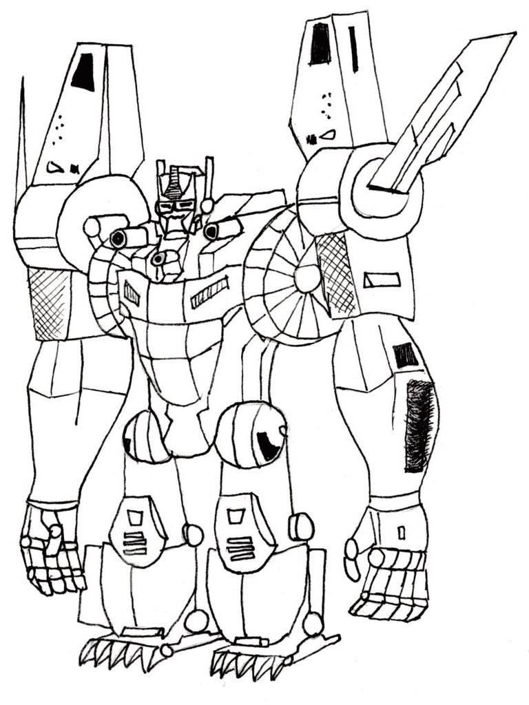 Transformers Printable Coloring Pages