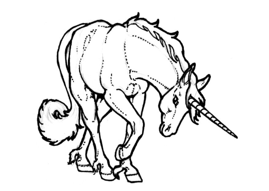 childrens coloring pages unicorn - photo#18