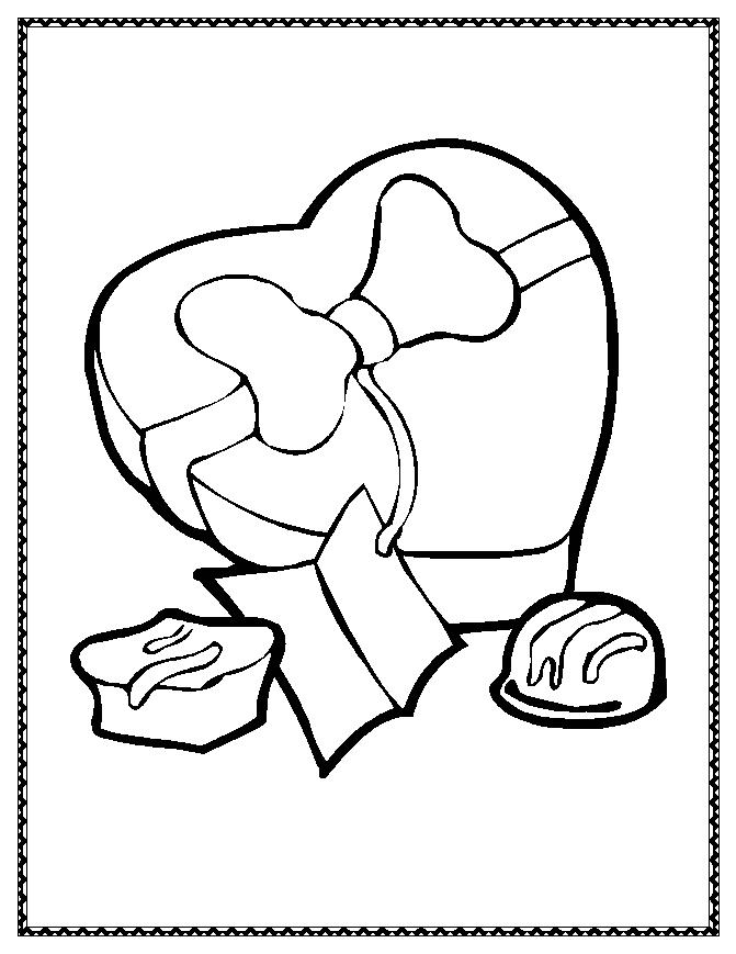 coloring pages for valantine - photo#39