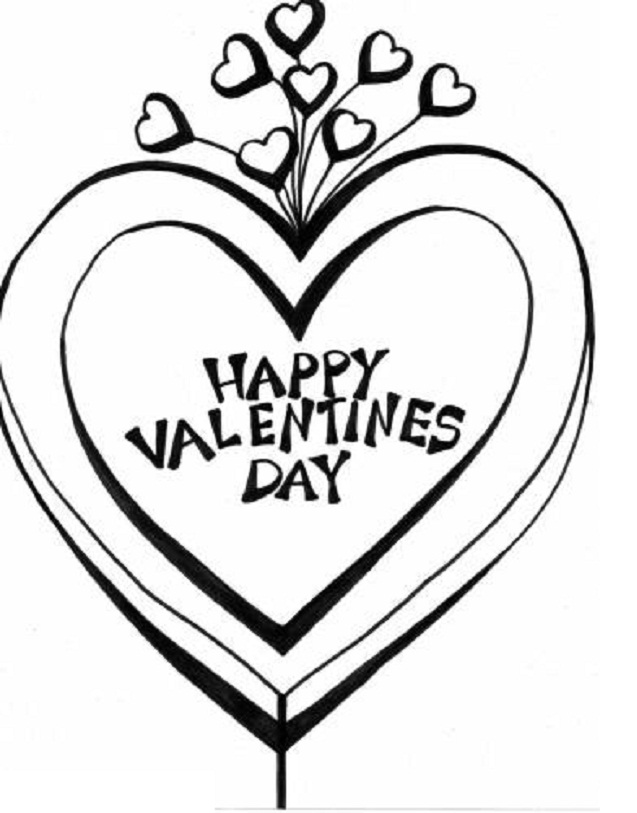 valentine coloring pages in spanish - photo#46