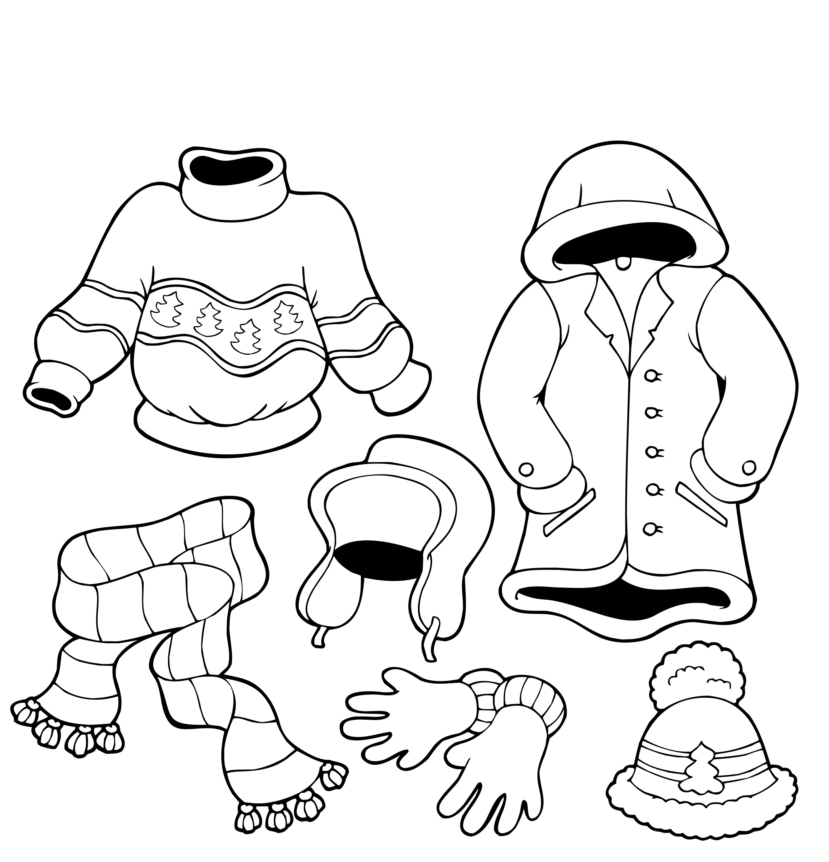Free Printable Winter Coloring Pages For Kids Winter Coloring Sheets