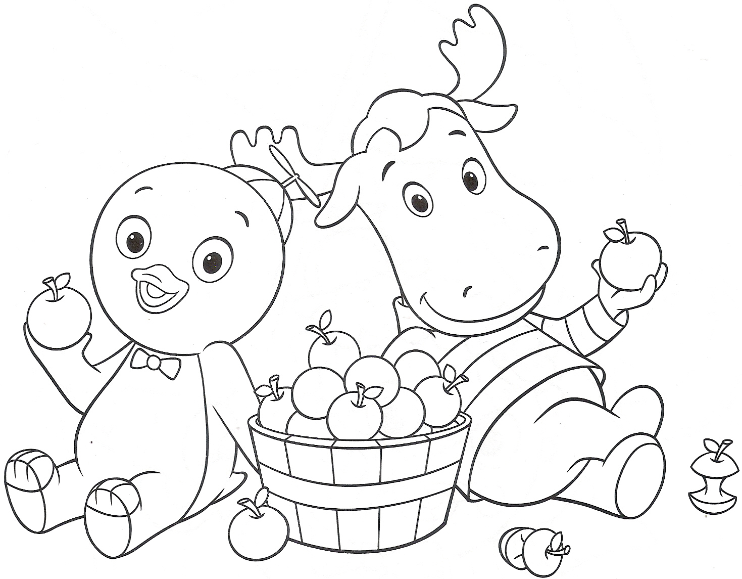 backyardagins printable coloring pages - photo#7