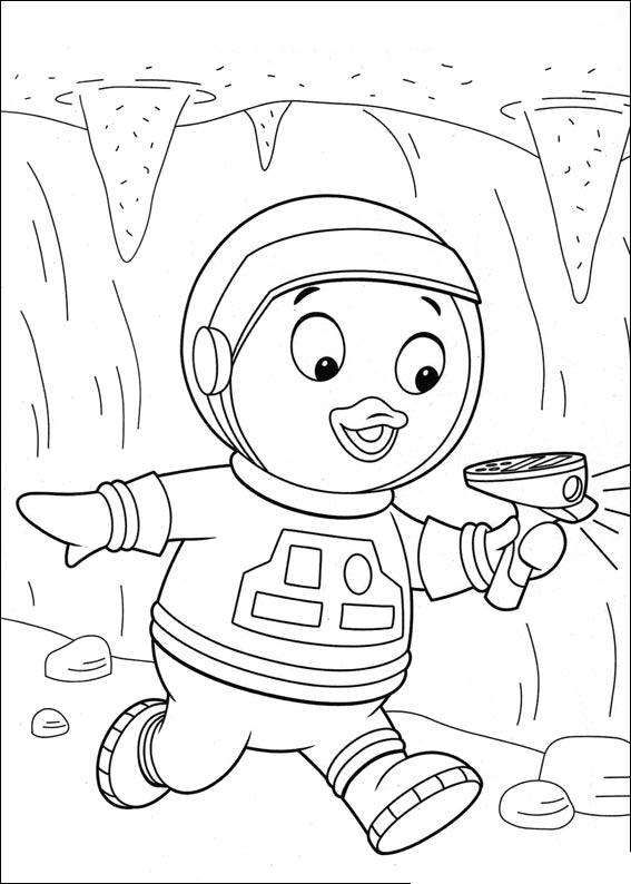 backyardigans coloring pages jpg 567x794 cartoon pablo coloring page - Backyardigans Coloring Pages Print