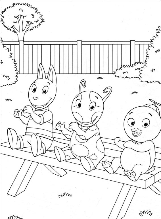 backyardagins printable coloring pages - photo#17
