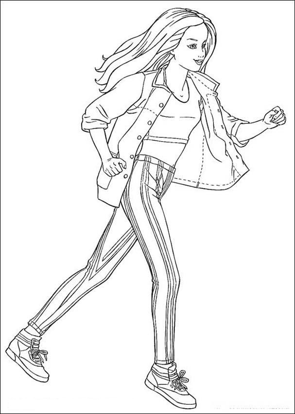 Barbie Online Coloring Pages