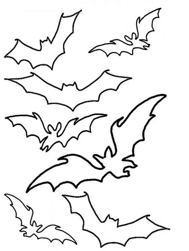 coloring pages of a bat - photo#33