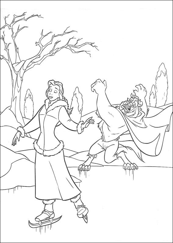 beauty and the beast free coloring pages free printable beauty and the beast coloring pages for kids
