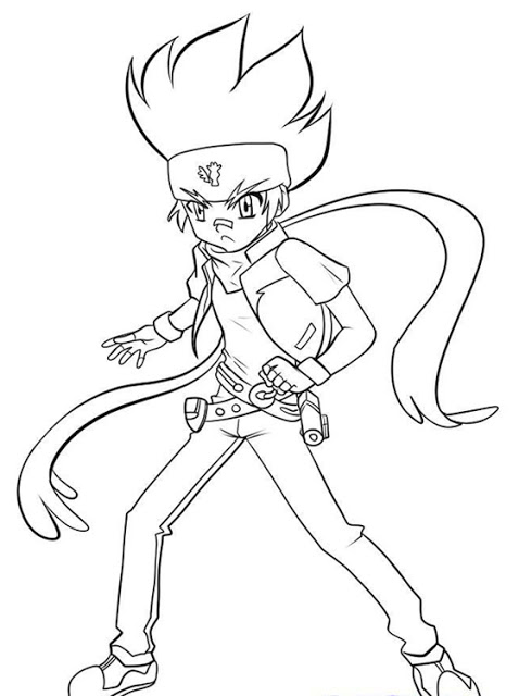 Beyblade Coloring Pages Images