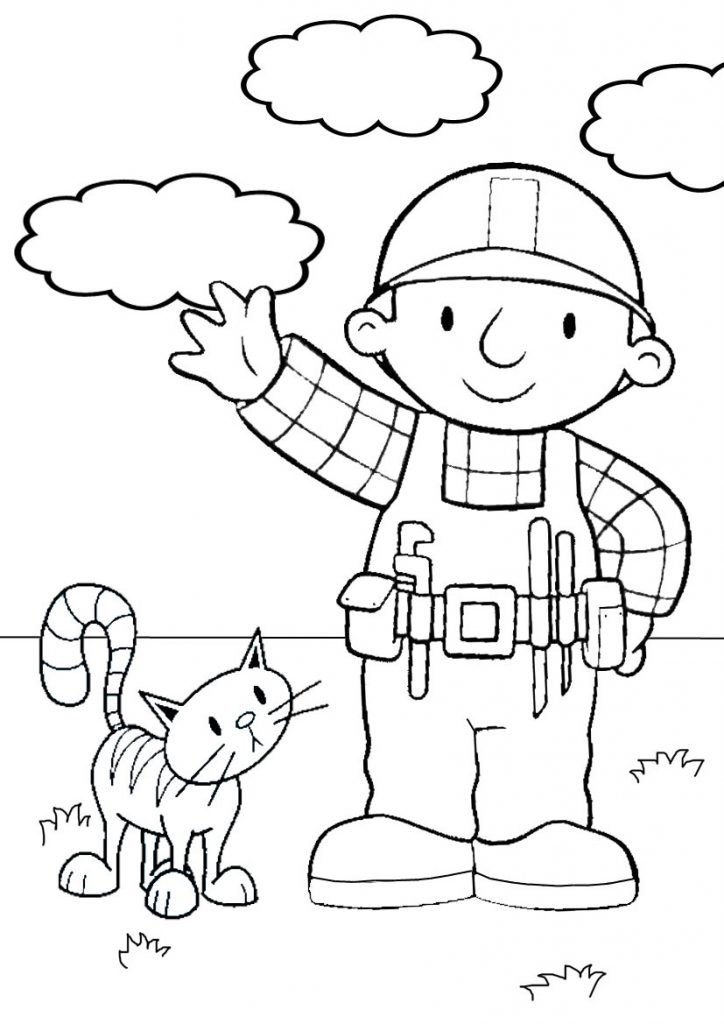 bobthebuilder coloring pages - photo#7