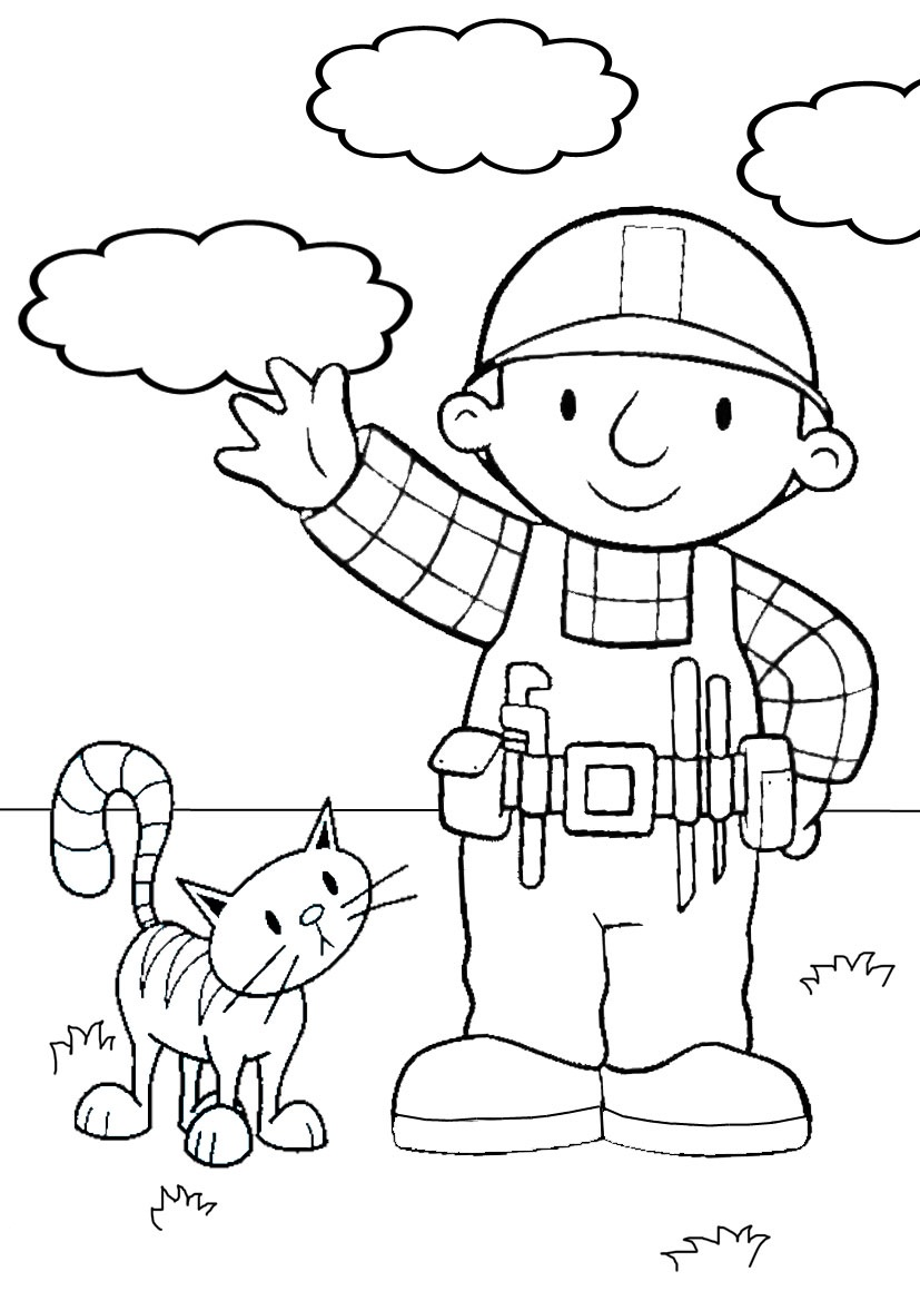 builders coloring pages - photo#19