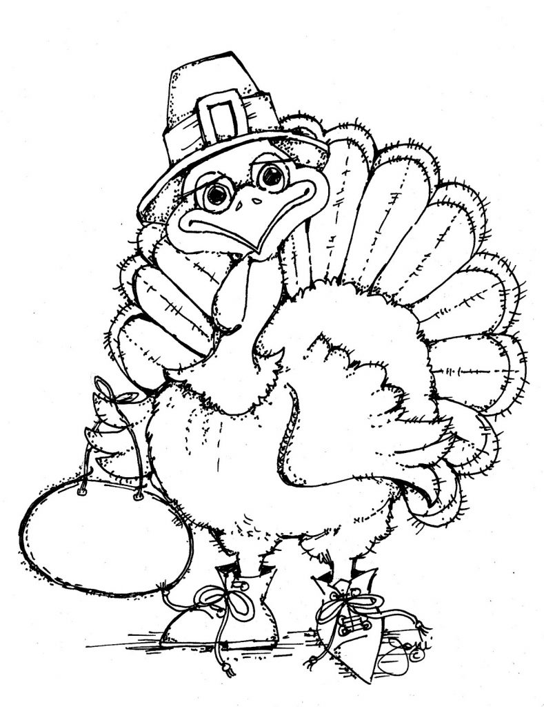 Free Printable Turkey Coloring Pages For Kids Turkey Coloring Page Printable