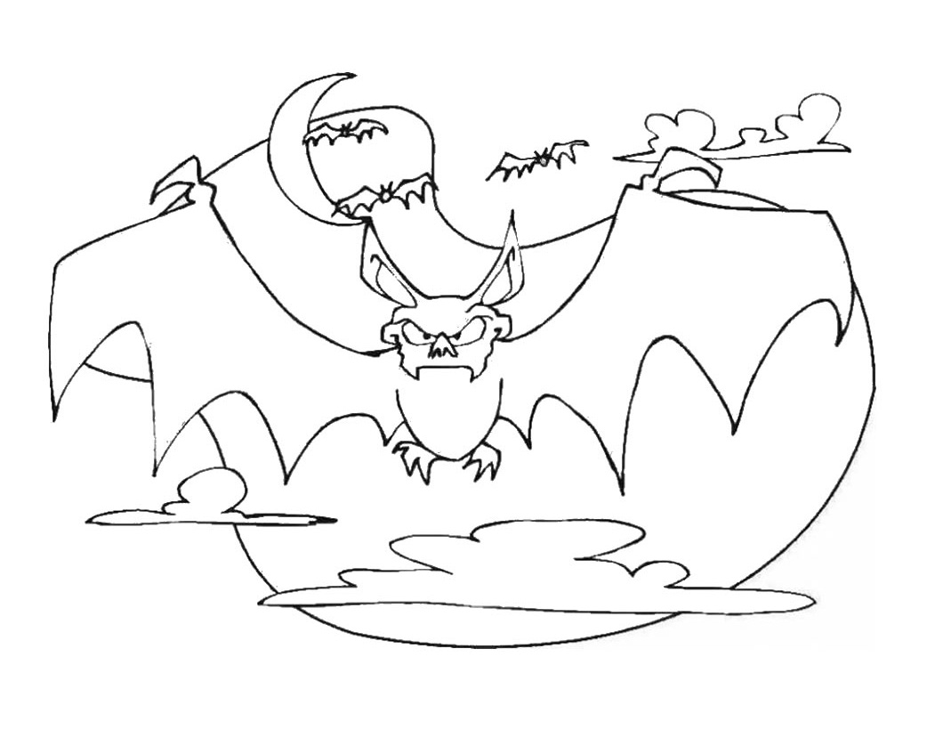 Free Printable Bat Coloring Pages For Kids Bat Color Pages
