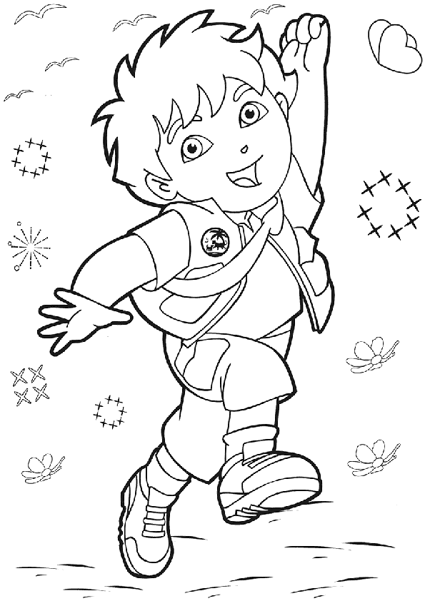 Coloring Pages Of Diego