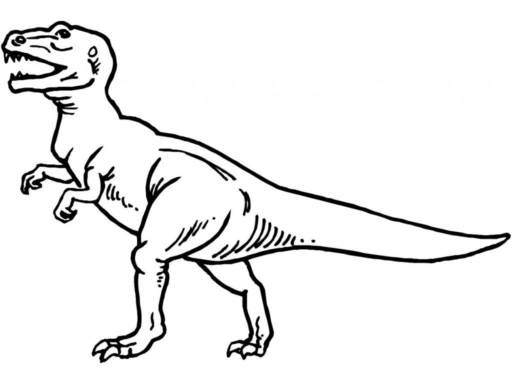 Coloring Pages of Dinosaurs