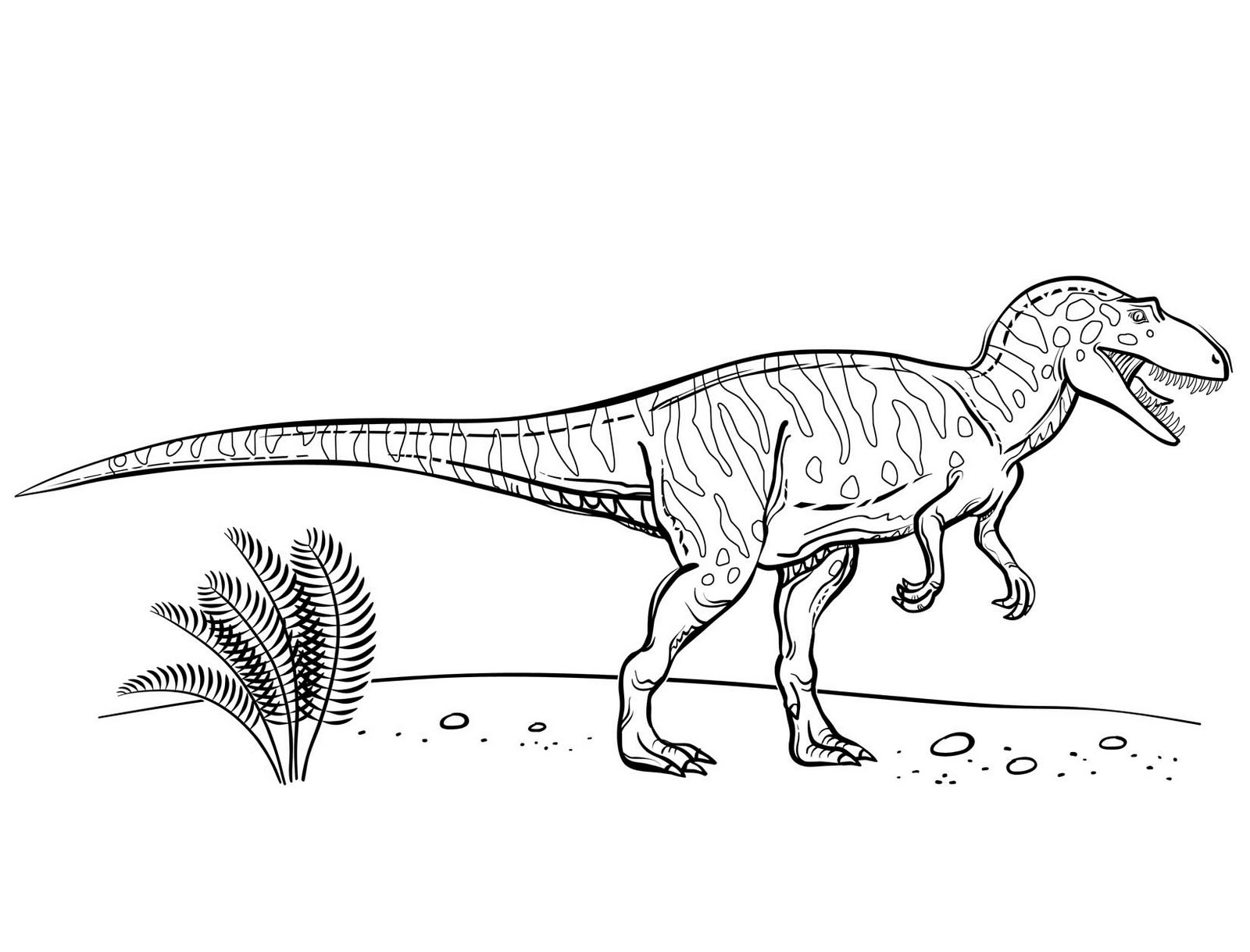 Coloring Pages Of Dinosaurs For Kids