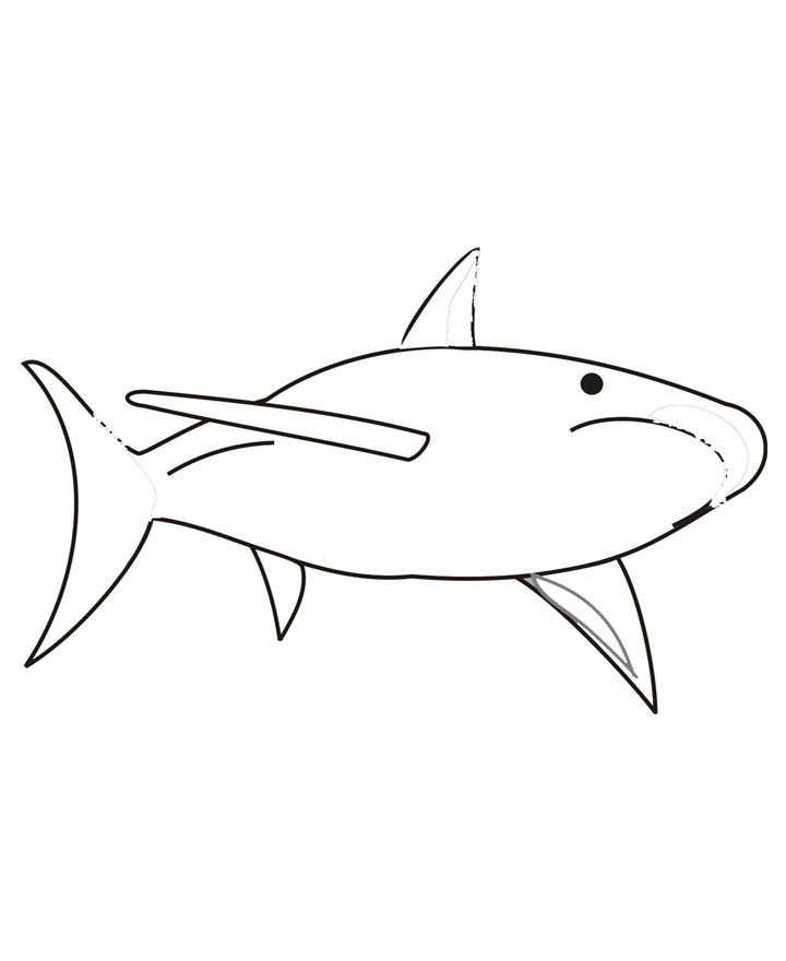 sharks hockey Colouring Pages