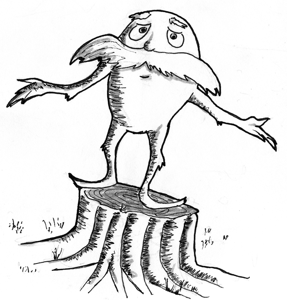Coloring Pages of The Lorax
