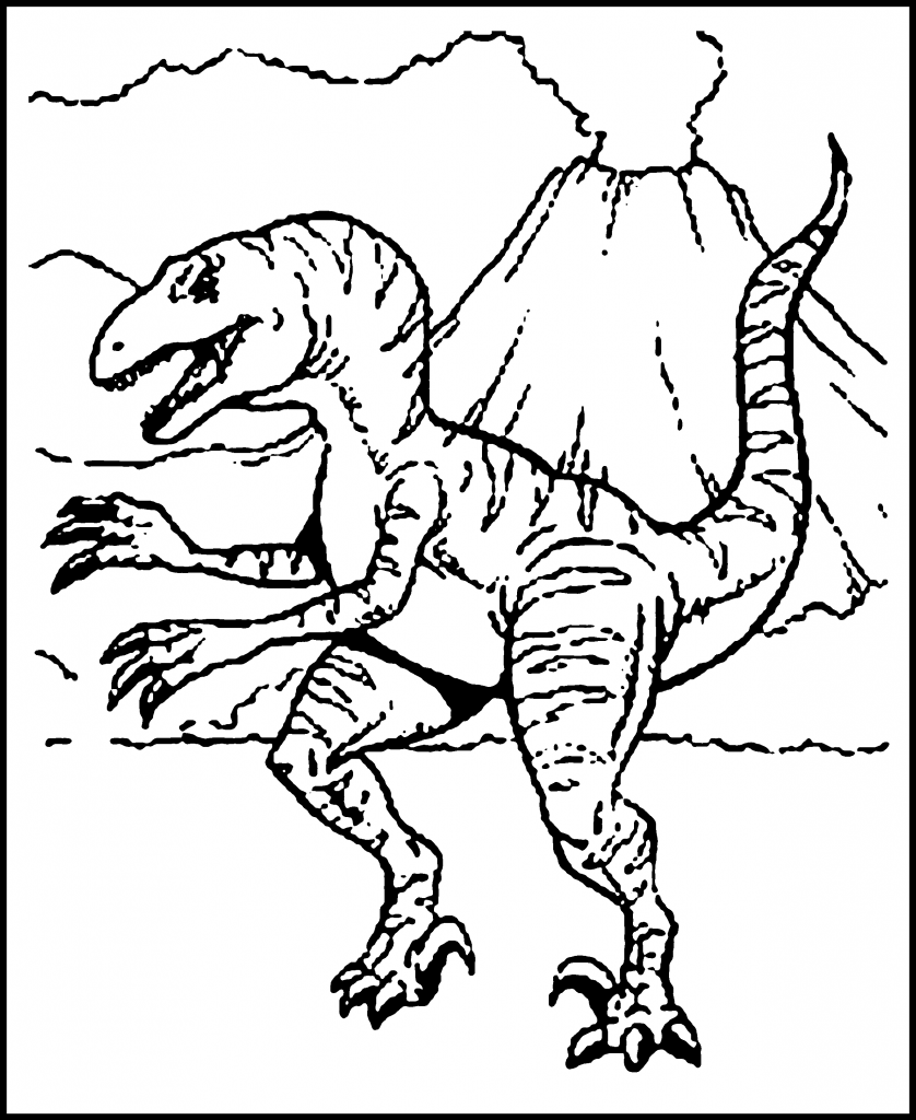 kids coloring pages dinosaurs - photo#32