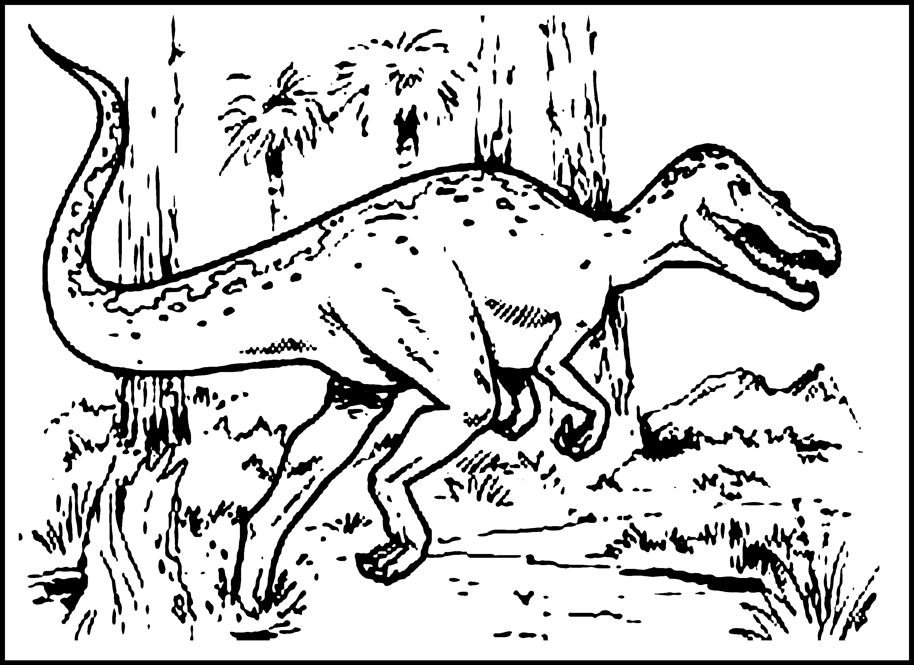 Printable coloring pages dinosaurs - Dinosaur Coloring Pages For Kids