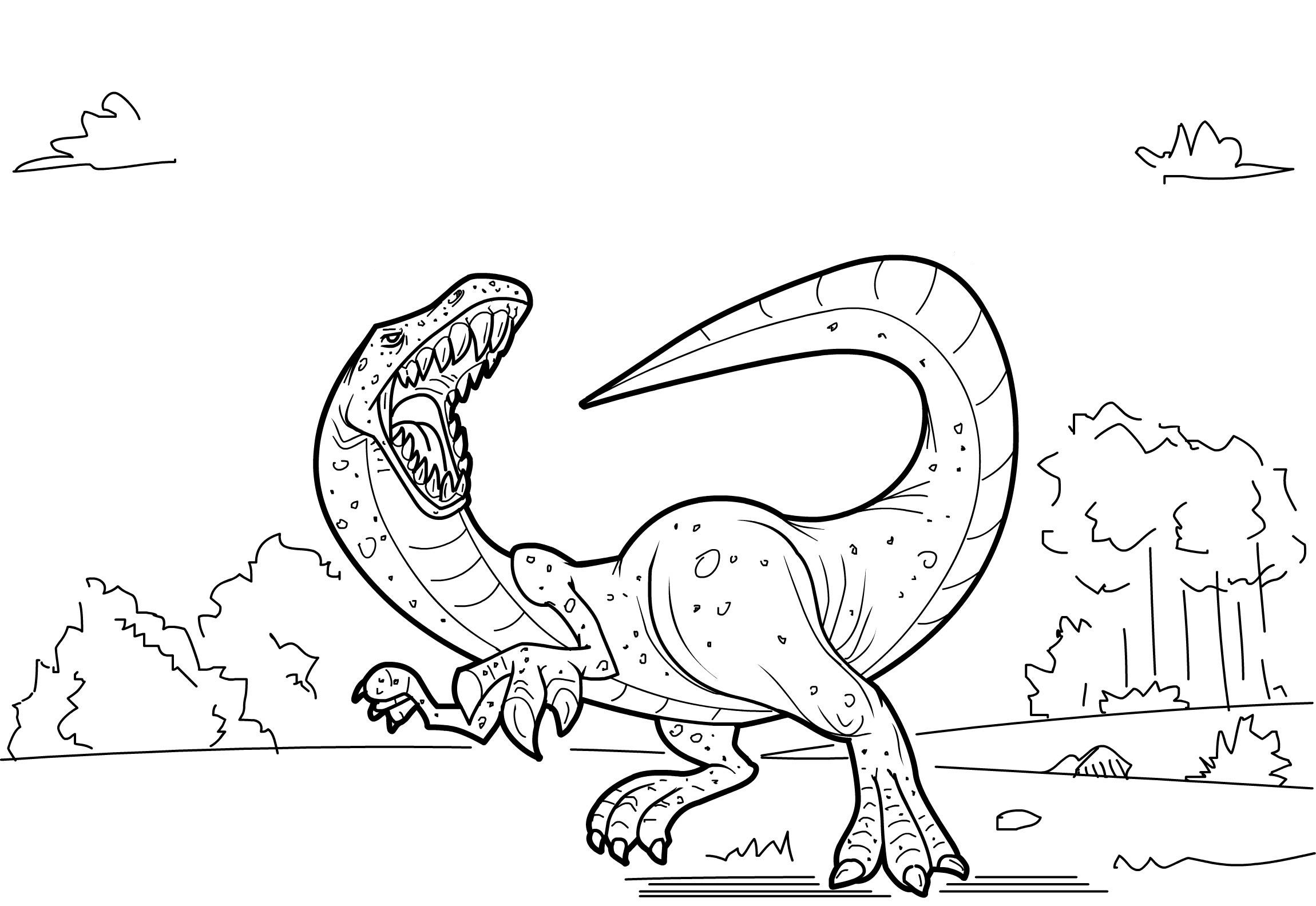 kids coloring pages dinosaurs - photo#44