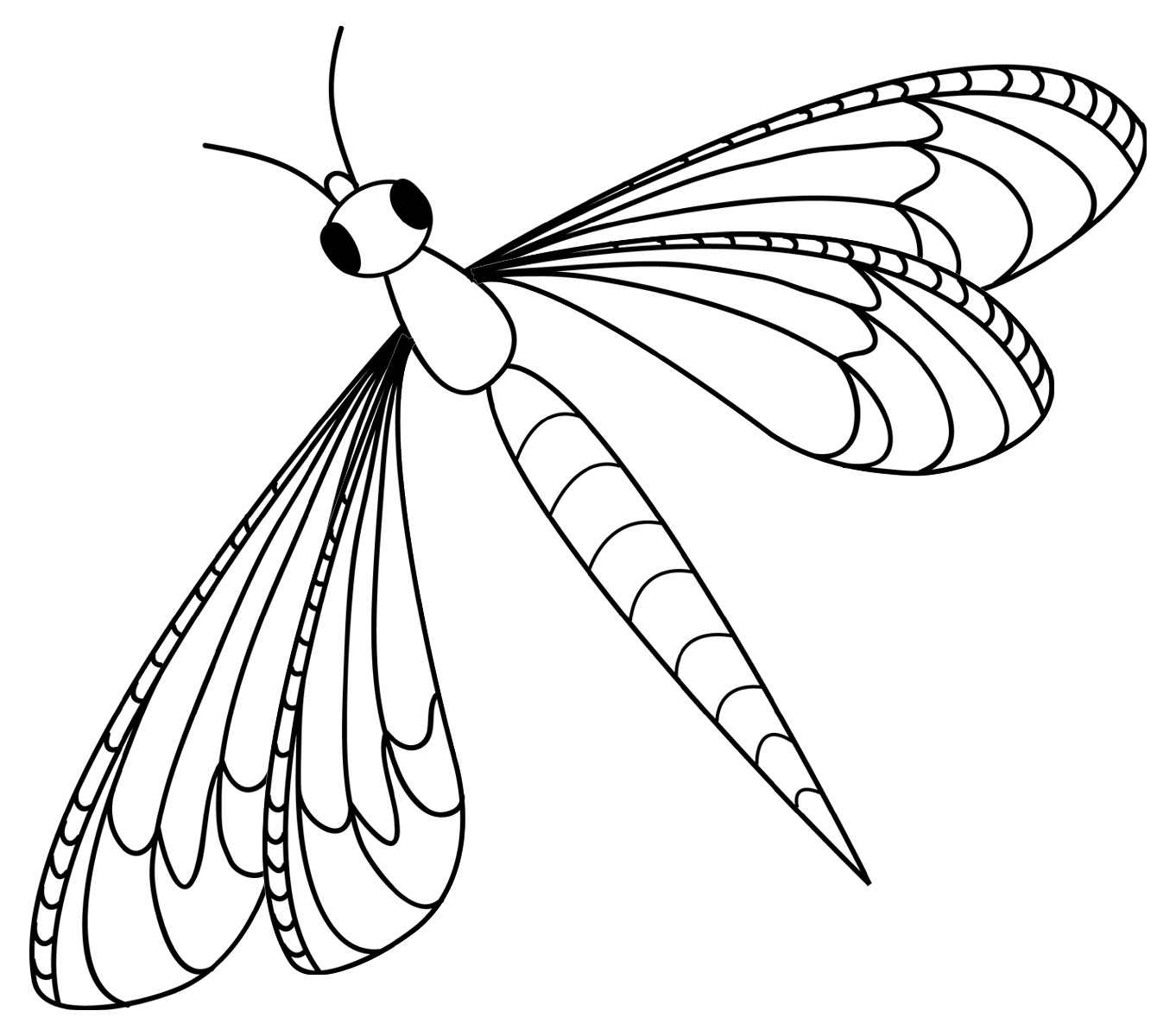 dragonfly coloring pages free printable dragonfly coloring pages for kids