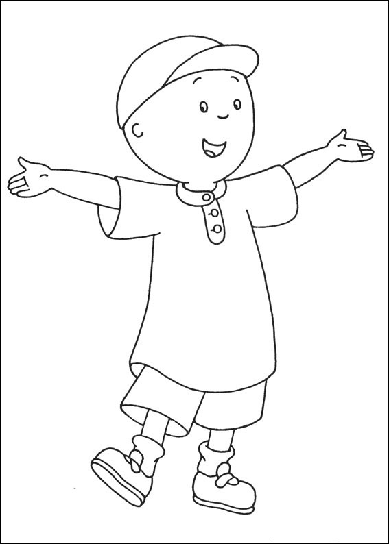 free printable caillou coloring pages for kids Strawberry Shortcake Coloring Pages  Caillou Coloring Pages Online