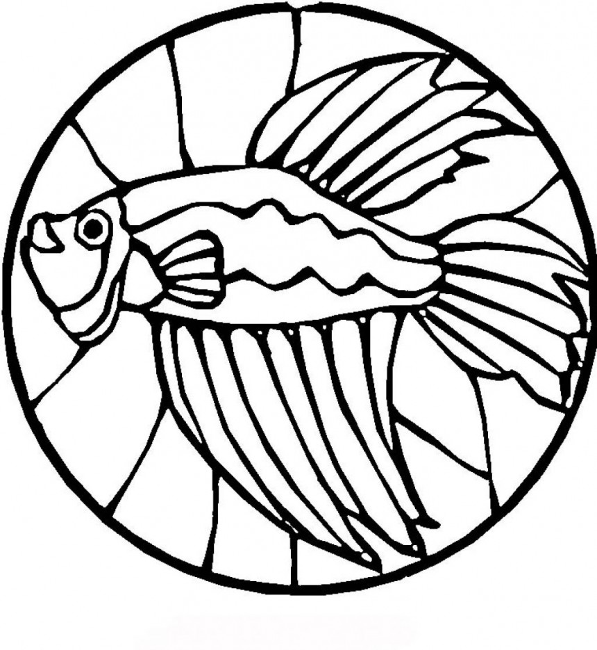 fish coloring pages free - photo#10