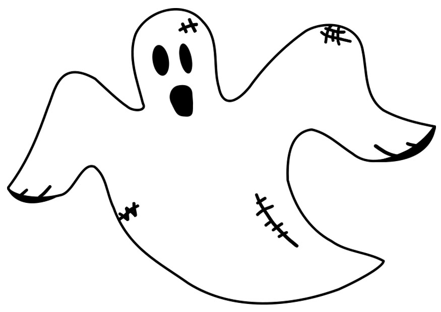 Free Printable Ghost Coloring Pages For Kids