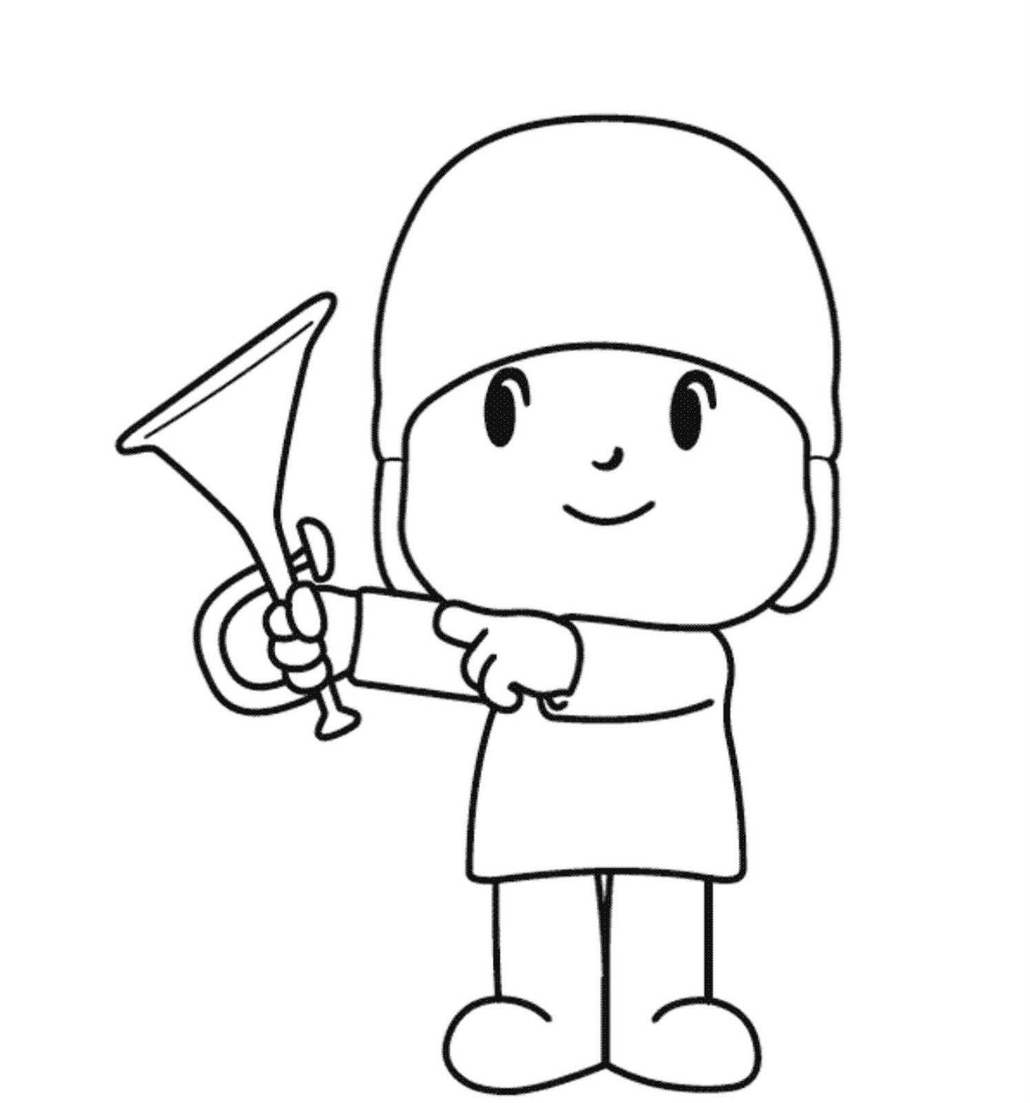 pocoyo coloring pages - photo#17