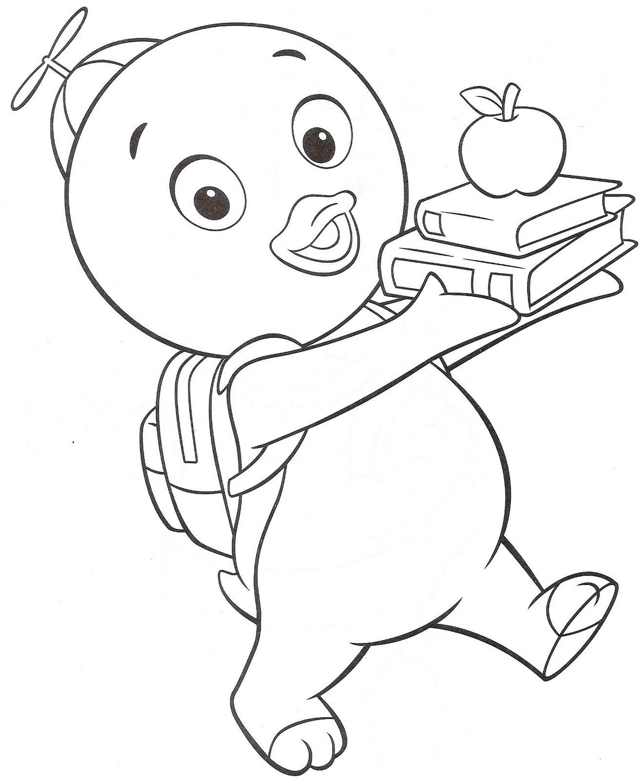 printable coloring pages for kids - free printable backyardigans coloring pages for kids