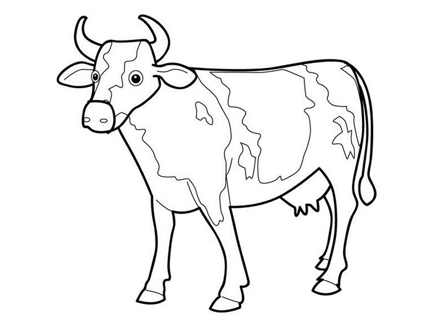 Challenger image in printable cow