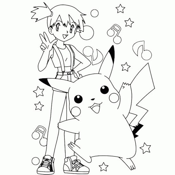 Free Printable Pokemon Pikachu Coloring Pages