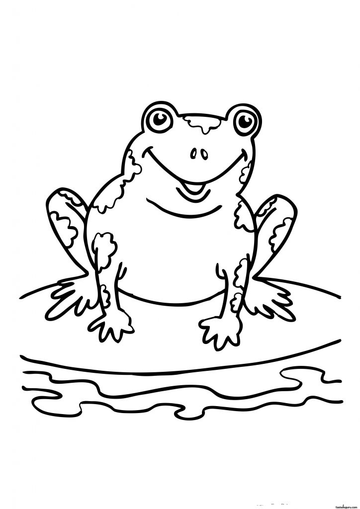 This is a photo of Unusual Printable Frog Pictures
