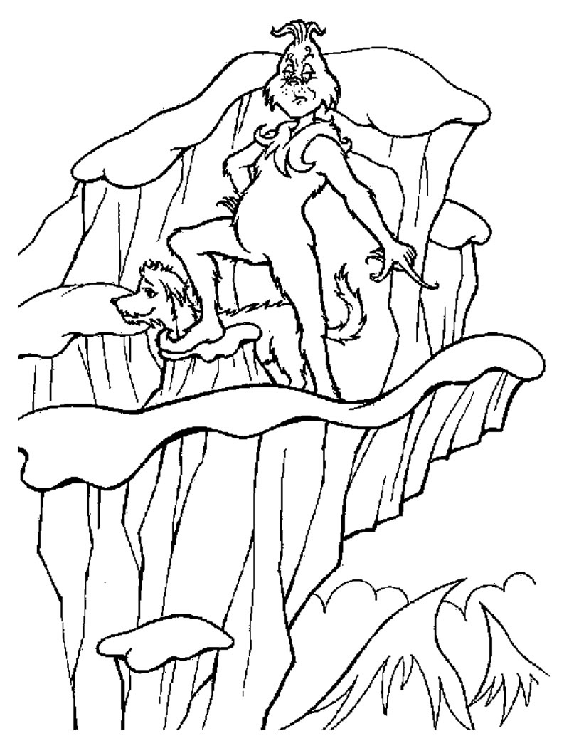 baby grinch coloring pages - photo #9