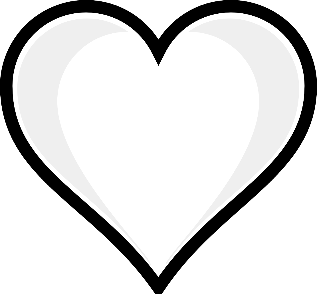 Clip Art Cute Heart Coloring Pages free printable heart coloring pages for kids pages