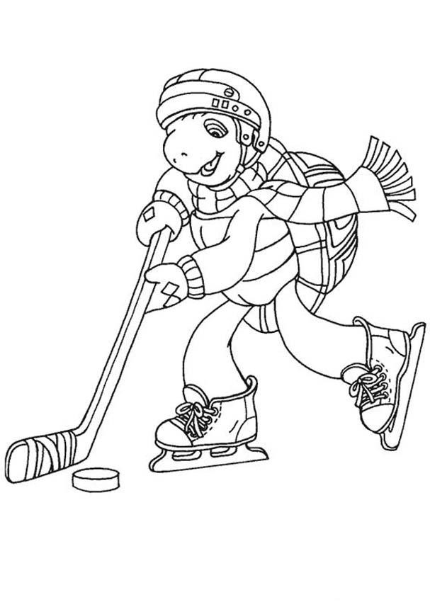 Free Printable Hockey Coloring Pages For Kids Hockey Coloring Pages To Print