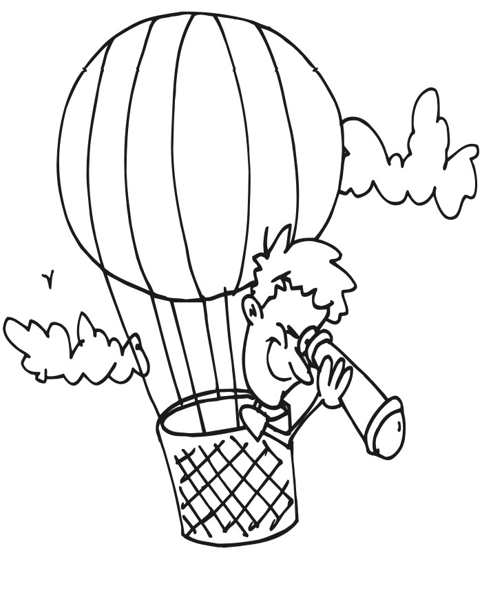 air coloring pages for kids - photo#8