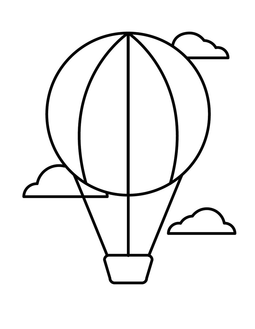 air coloring pages for kids - photo#6