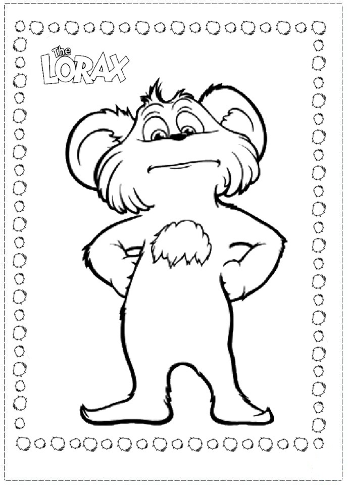 Lorax Coloring Pages To Print