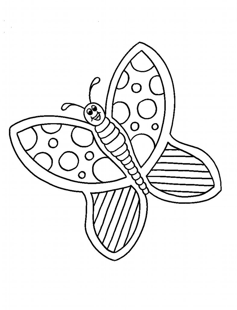 Butterfly coloring page printable - Monarch Butterfly Coloring Pages